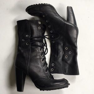 EUC 7 for all mankind leather boots